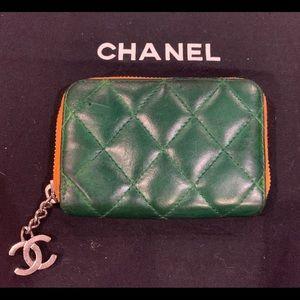💚RARE & VINTAGE💚 CHANEL Mini-Zip Wallet